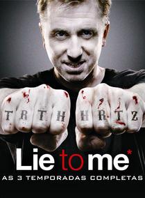 Lie To Me 1ª A 3ª Temporadas Dublado E Legendado Completo !!