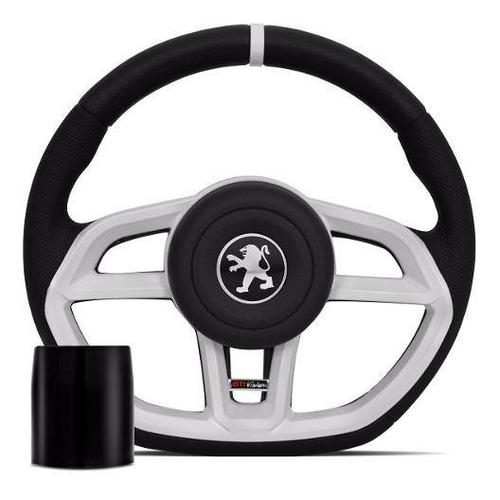 Imagen 1 de 3 de Volante Peugeot  Blanco 106 206  306 207 307  + Obsequio