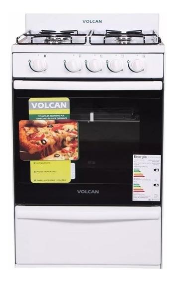 Cocina Volcan 89649v 55cm Valv Seguridad Cajón Parrilla