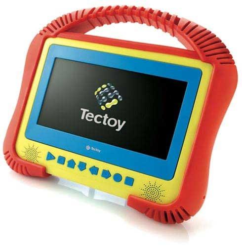 Dvd Portátil Tectoy Kids Emborrachado K-3001 Bivolt