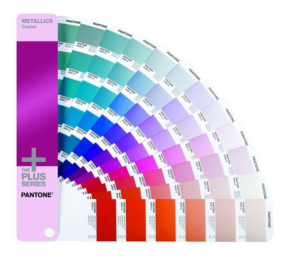 Pantone Metallics Coated Muestrario Colores Metalicas Gg1507