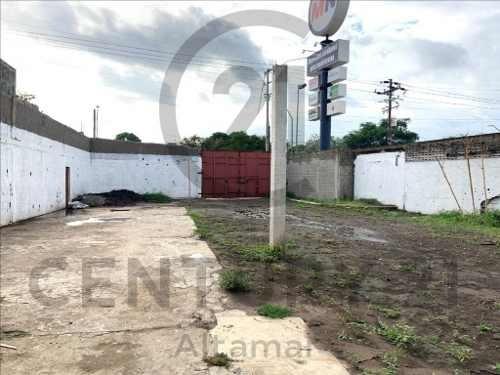 Renta De Terreno Comercial Sobre Av. Monterrey, Col. Enrique Cárdenas González, Tampico, Tamps.