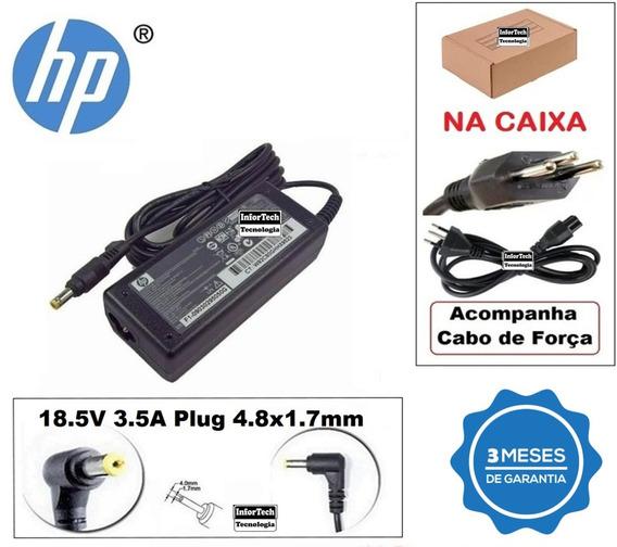 Carregador Para Notebook Hp 18.5v 3.5a 65w Nova!
