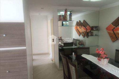 Imagem 1 de 17 de Apartamento Em Taboão Da Serra Bairro Chácara Agrindus - V2136