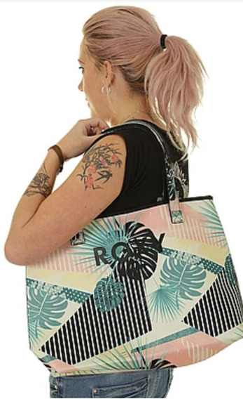Cartera Bolso Roxy All Things Printed Bte2 Mujer Reversible