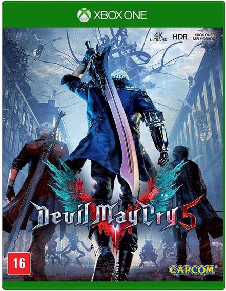 Devil May Cry 5 Xbox One Midia Fisica Lacrado!