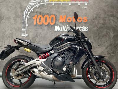 Kawasaki Er 6 N Abs 2013 Otimo Estado Aceito Moto