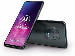 Motorola One Zoom 128gb 4gb Ram Sellado Electric Gray Tienda