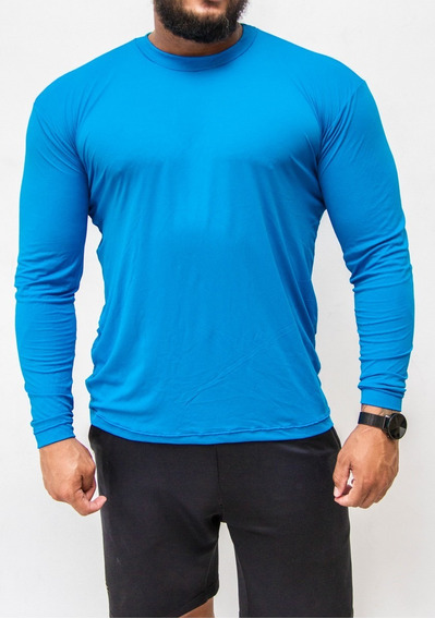Camiseta Masculina Uv 50+praia /pesca/caminhada