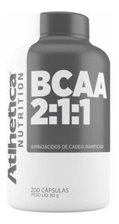 Bcaa Pro Series - 200 Cápsulas - Atlhetica