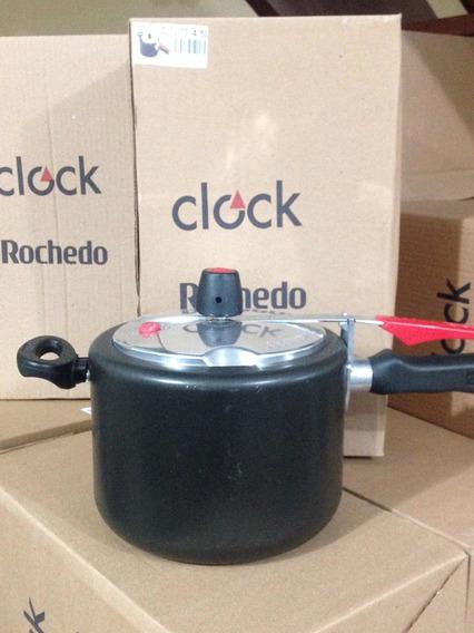 Panela De Pressão Teflon 4.5 L Clock Original Saldo Estoque