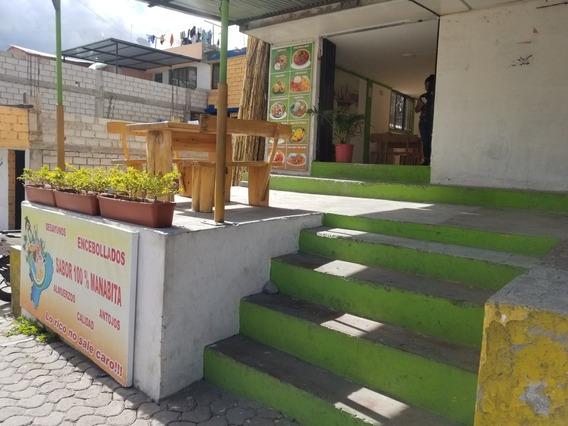 Negocio De Comida Sector El Tingo A Una Cuadra Del Balneareo