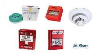 Sistema Detección De Humo Contra Incendio Panel Centralizado