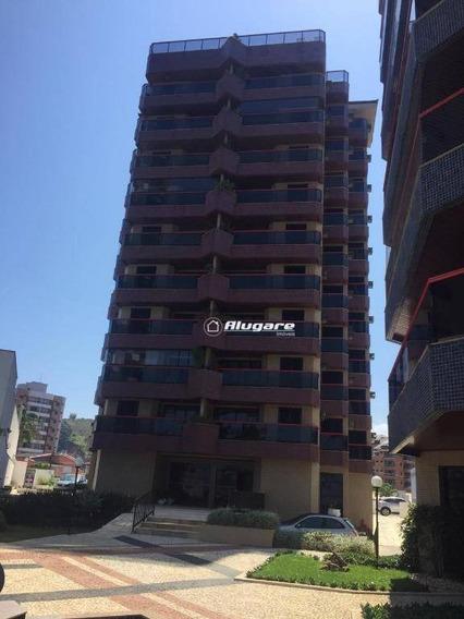 Apartamento Com 3 Dormitórios À Venda, 125 M² Por R$ 850.000 - Martim De Sá - Caraguatatuba/sp - Ap2909