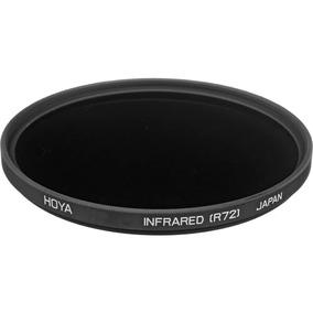 Filtro Câmera Profissional Ir Hoya R72 58mm Nikon Canon Sony