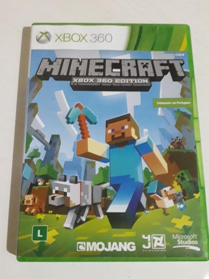 Minecraft Xbox 360 Mídia Física Pt Brasil