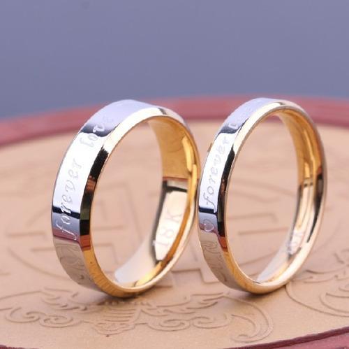5138ba708754 2 Anillos Forever Love Matrimonio