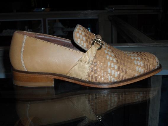 Zapato Casual Hueso Cuadra