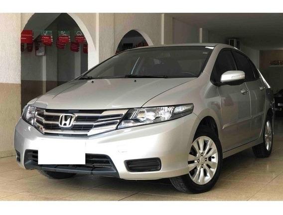 Honda City Lx 1.5 Prata 16v Flex 4p Aut. 2013