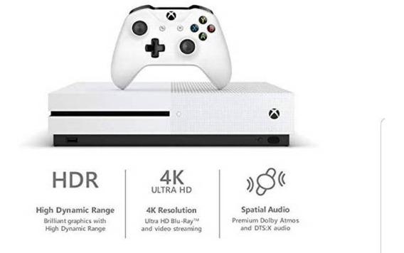 Xbox One S Branca