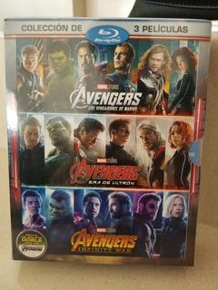 Avengers Trilogia Blu-ray Nueva Sellada