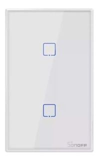 Sonoff T2 2 Canales Rf Wifi Tecla Pared Touch Wifi Domotica