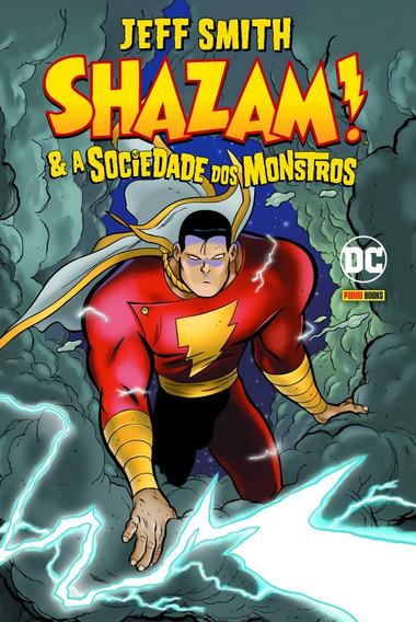 Livro Shazam E A Sociedade Dos Monstros