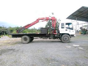 Camión Con Brazo Hidráulico