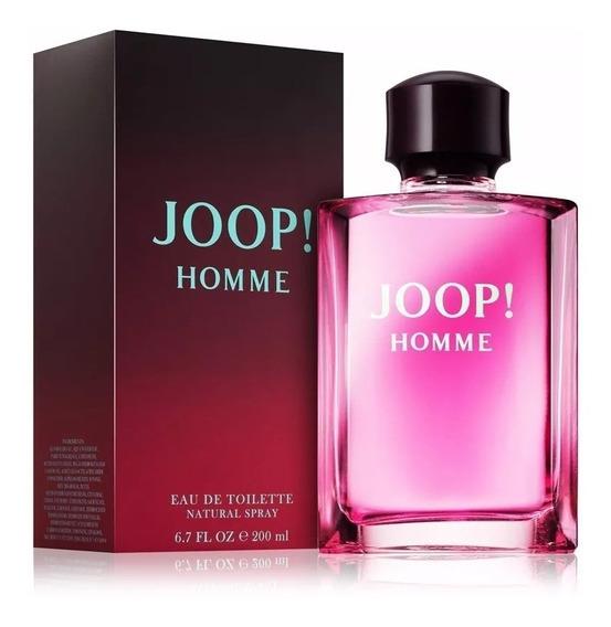 Perfume Joop Roxo 200ml Original Frete Grátis Nota Fiscal.