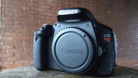 Câmera Canon T3i Fotográfica E Filmagem Fullhd Profissional