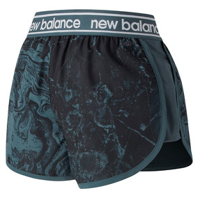 Shorts New Balance Accelerate Printend 2.5in | Feminino