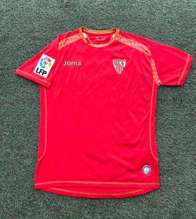 Camisa Sevilla Joma Away 2007 G Patch La Liga