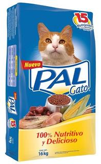 Alimento Para Gato Pal 16kgs.