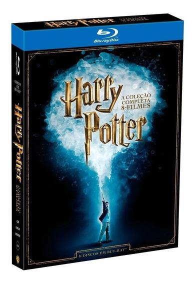 Box Blu Ray Harry Potter - A Coleção Completa - 8 Filmes
