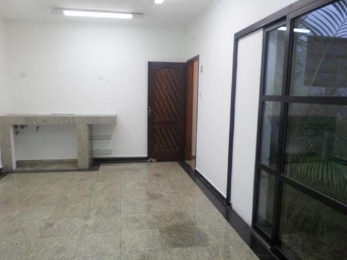 Sobrado Para Alugar, 202 M² Por R$ 3.800,00/mês - Jardim - Santo André/sp - So0588