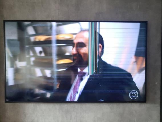 Tv Samsung 65 4k Com Tela Quebrada (com N.f.)