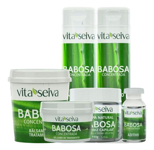 Imagem 1 de 9 de Linha Completa Babosa Concentrada Vita Seiva(6 Unidades)