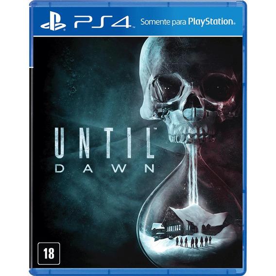 Until Dawn Playstation 4 Original Novo