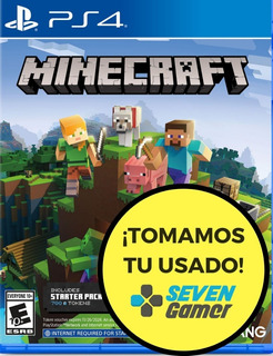 Minecraft Ps4 Juego Fisico Sellado Playstation 4 Sevengamer