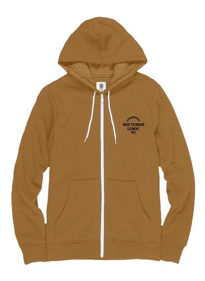 Buzo Campera Element Premium Goods Zip Hood Hombre 21198614