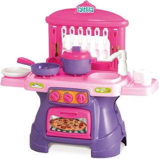 Juguete Nena Cocina Calesita Mini Chef Con Agua Accesorios