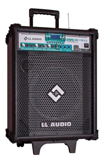 Caixa Ativa Amplificada Multiuso Nca Stone250 C Bateria 60w