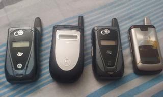 Lote Com 4 Celulares Nextel Motorola No Estado C4-25