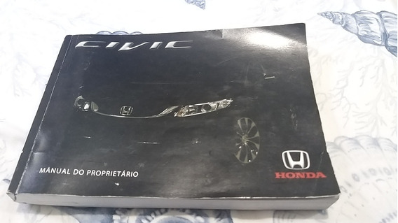 Manual Proprietário Honda Civic 2015