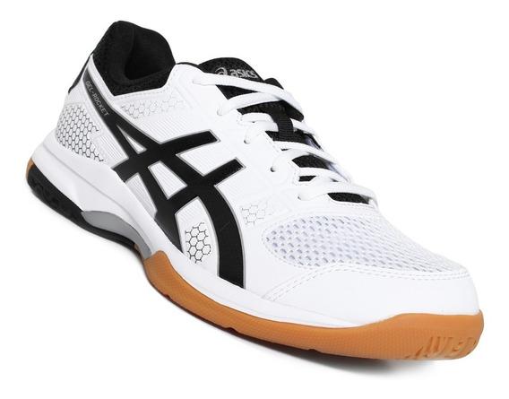 Tenis Asics Rocket 8 Blanegro Voleibol, Handball, Tenis, Gym