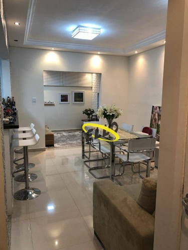 Excelente Casa Com 2 Dormitórios À Venda, 80 M² Por R$ 375.000 - Condomínio Vila Nostra! - Ca5084