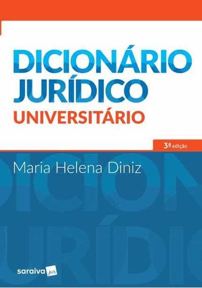 Dicionário Jurídico Universitário - 3ª Ed