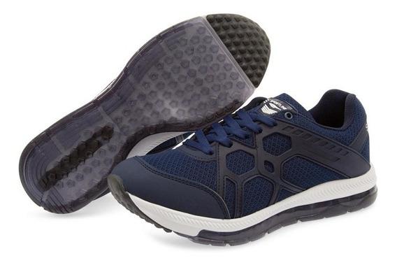 Tenis Azules Para Hombre Sportline Pr-8090292