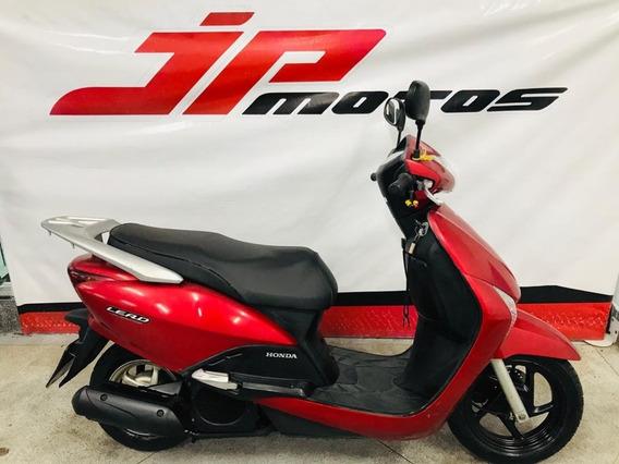 Honda Lead 110 2010 Vermelha