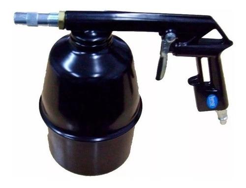 Pistola Arenadora Neumatica Compresor Con Tacho Bemar